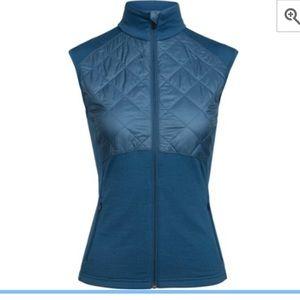 Icebreaker womens Elipse vest with Merinoloft